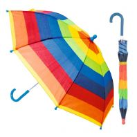 Drizzles Childs Striped Umbrella - Assorted Designs